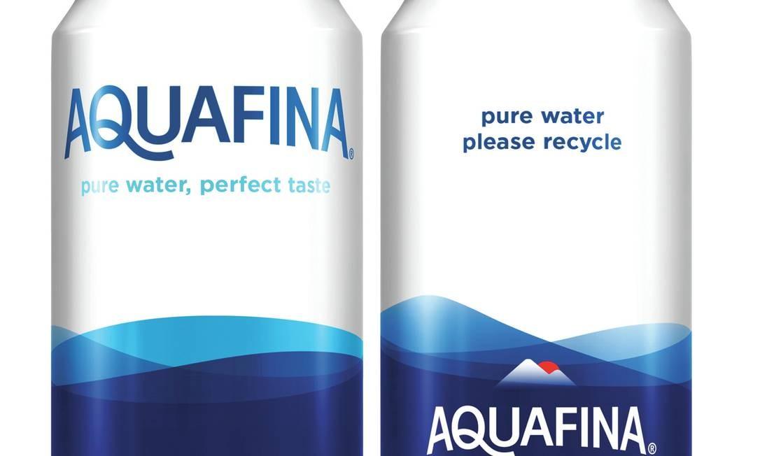 pepsico vai comercializar água em latas de alumínio