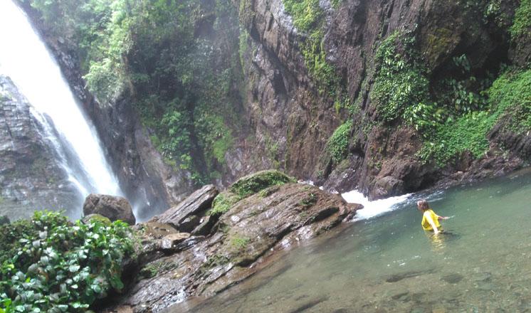 sul de são paulo possui extensão de quatro cachoeiras