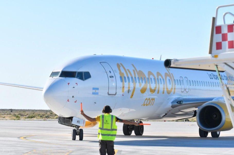 voo brasileiro volta a ser recebido em aeroparque argentino