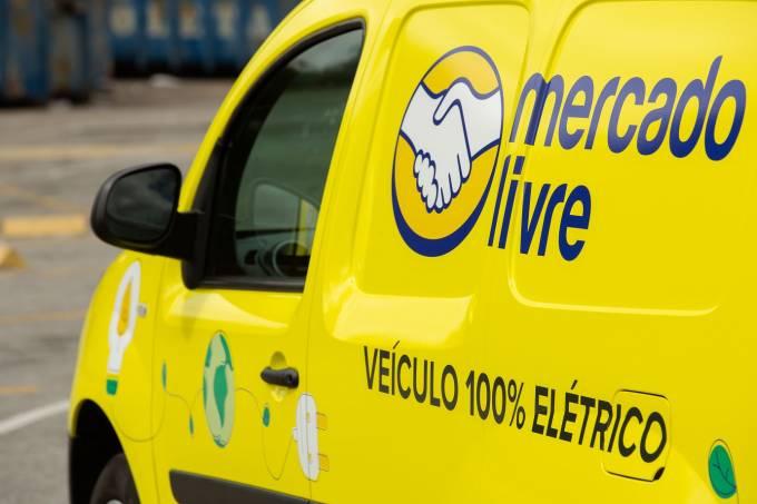 mercado livre ajudará entregadores na compra de veículos elétricos